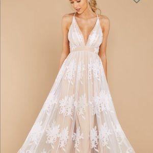WHITE MAXI DRESS BRIDAL SHOWER